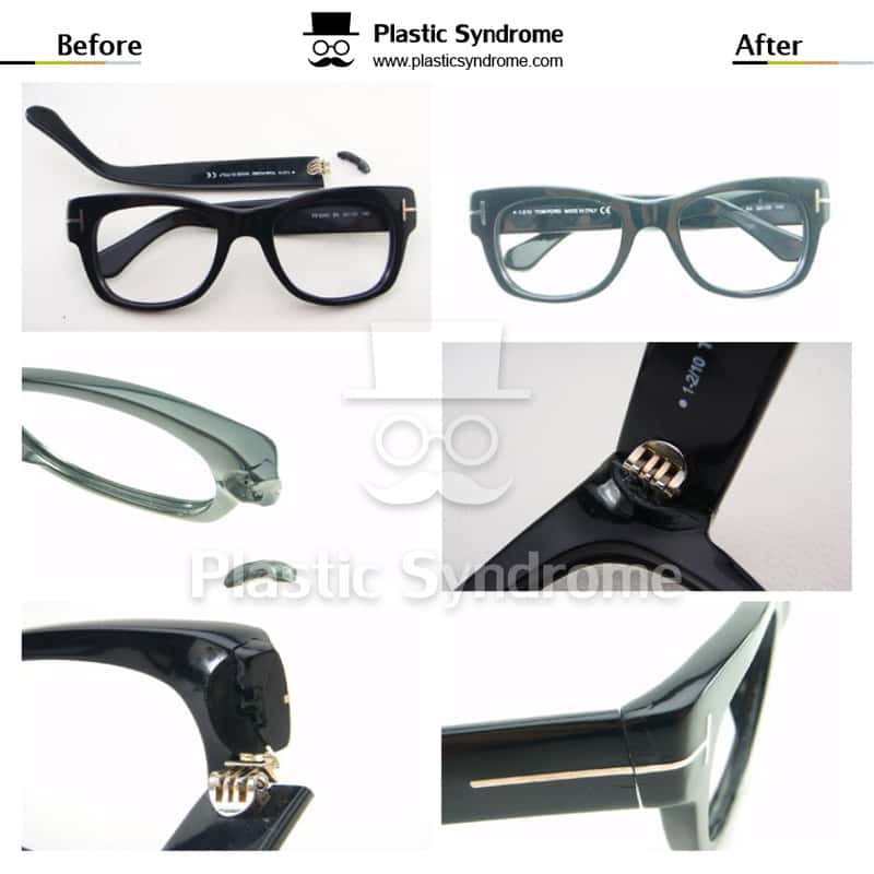 Sydney broken tomford glasses frame arm Repair/Fix
