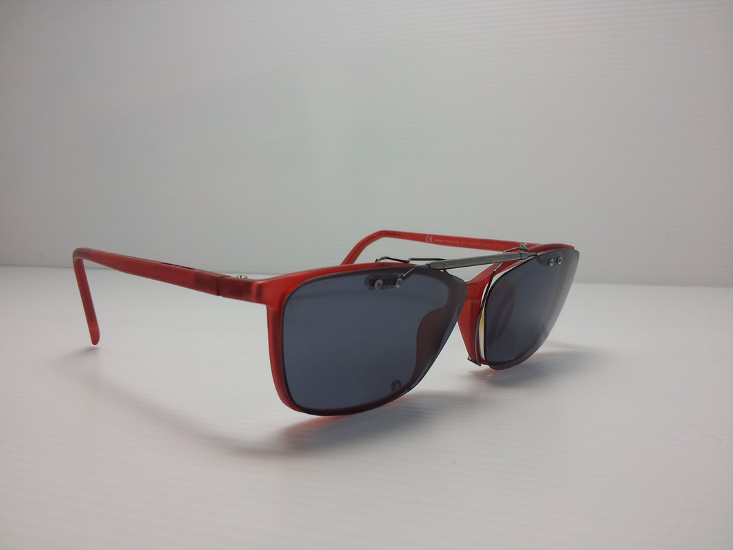 Karen Walker Polarized sun clip