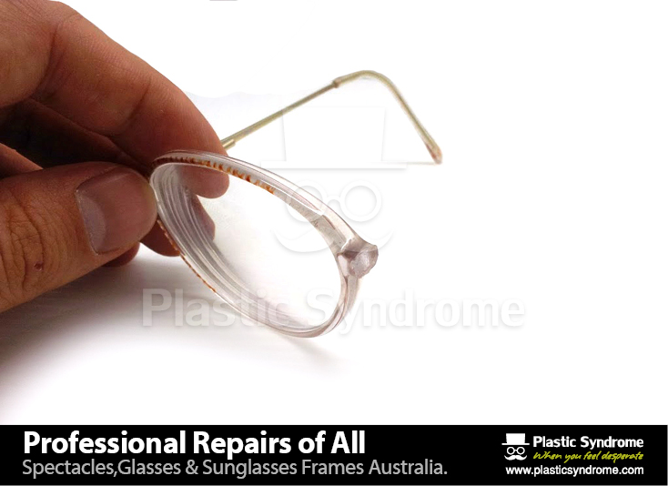 Prescription Eyeglass Plastic Frame bridge repair3
