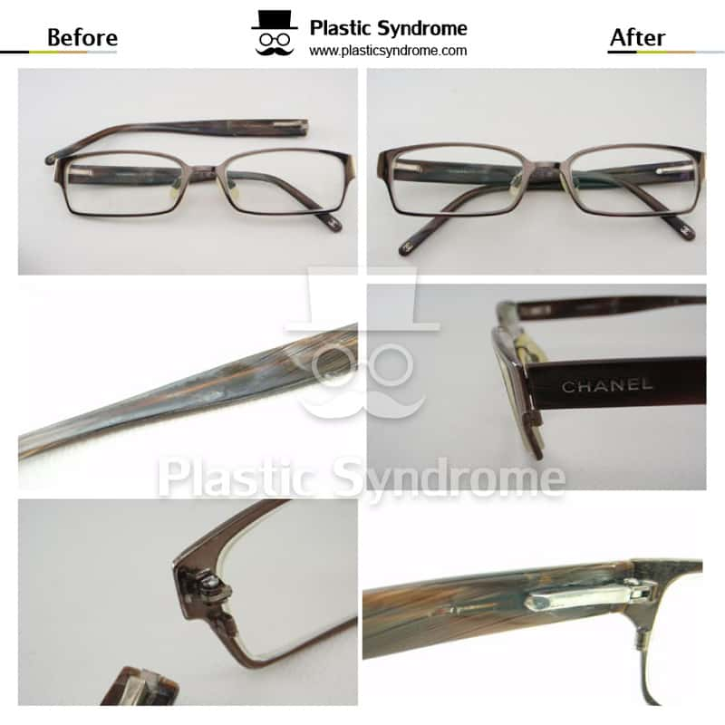 Sydney broken Chanel glasses Spring Hinge Repair/Fix