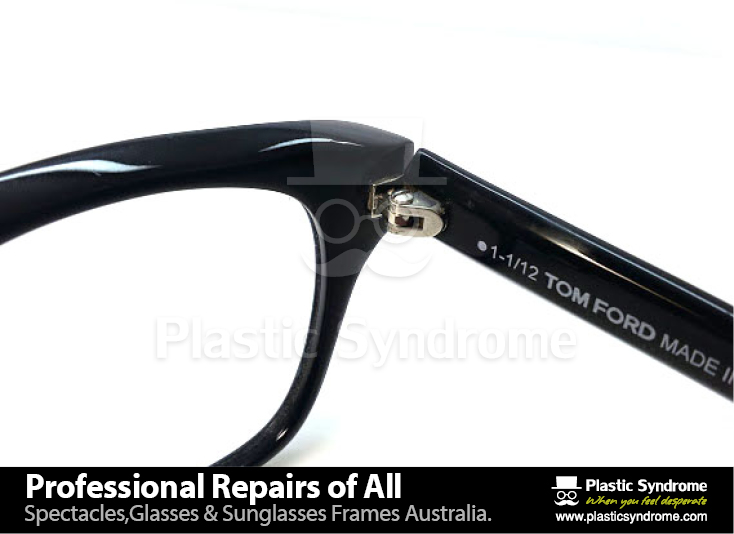 Broken Tom Ford glasses,sunglasses frame fix, repair