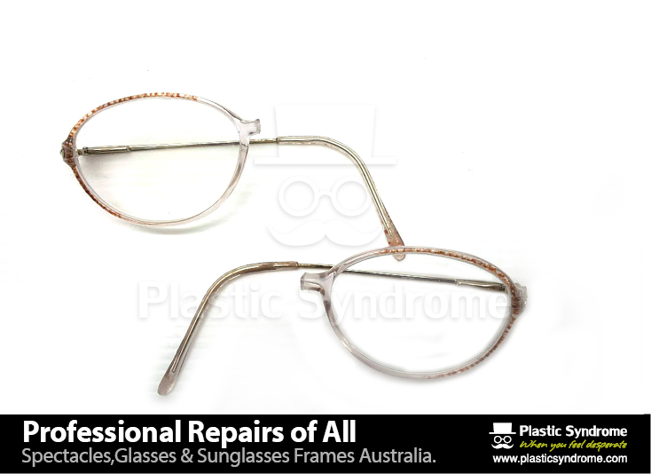 Broken prescription plastic eyeglasses, sunglasses frame bridge repair, fix