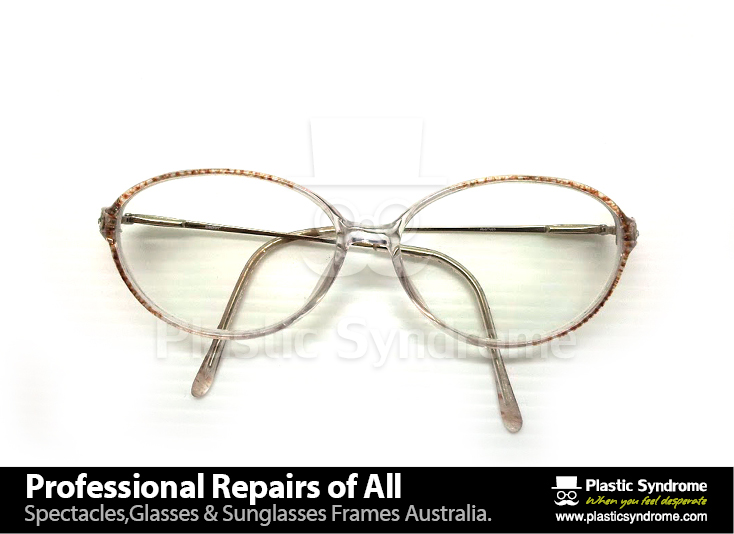 Prescription Eyeglass Plastic Frame bridge repair4