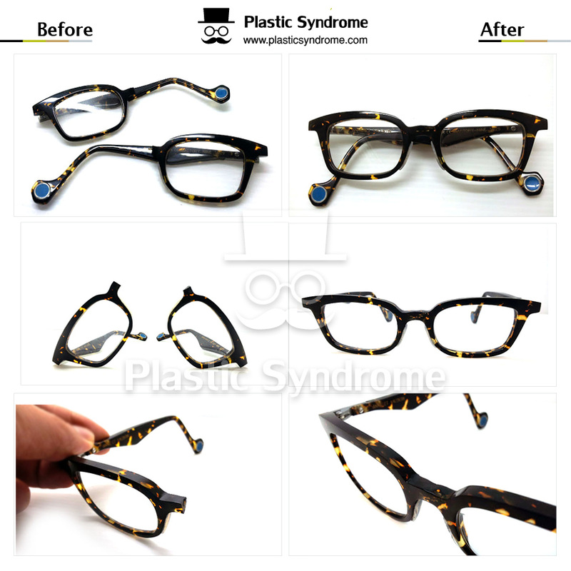 Anne et Valentin Eyeglass Frame Repair
