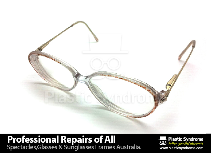 Prescription Eyeglass Plastic Frame bridge repair6