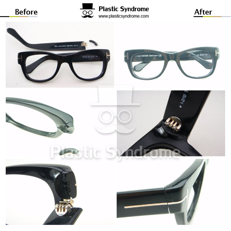CHANEL glasses frame arm Repair/Fix