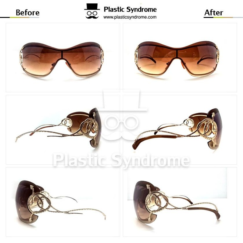 Sunglasses Plastic frame fix