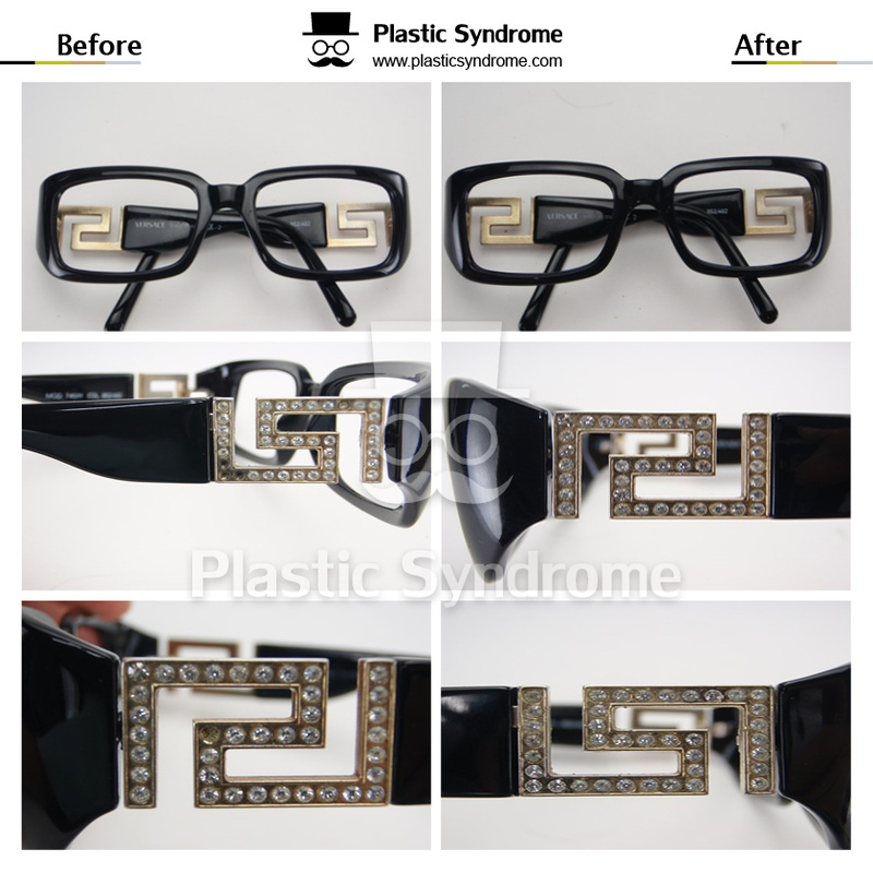 Sunglasses Plastic frame repair