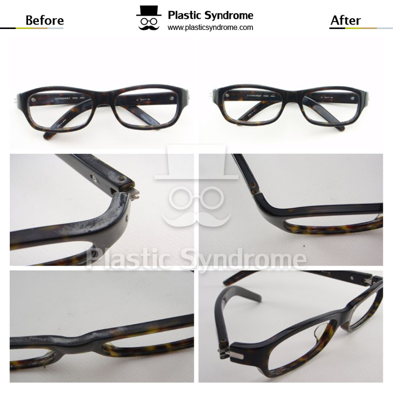 Prescription Plastic Eyeglasses frame Polishing Brisbane