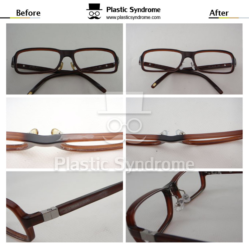Sunglasses Plastic frame polishing Melbourne