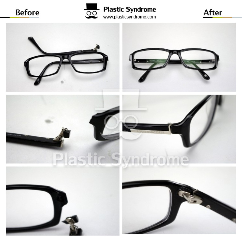 Broken Glasses Plastic Repair/Fix Brisbane