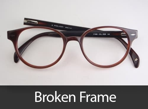 Broken Glasses and sunglasses repair