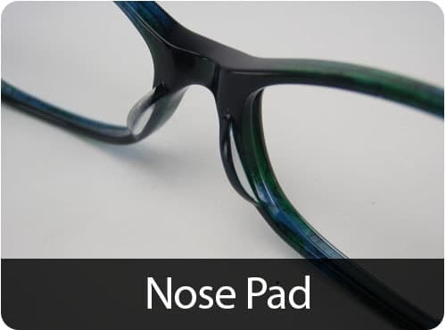 Custom Fit Nose pads, Asian Fit Nose pads