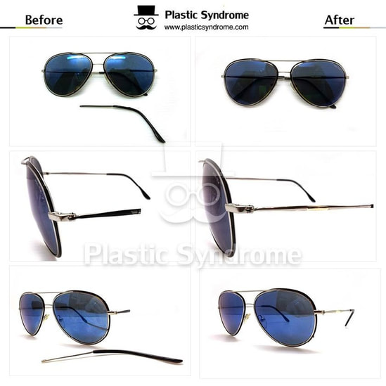 Broken Police Metal Sunglasses Repair Fix Brisbane