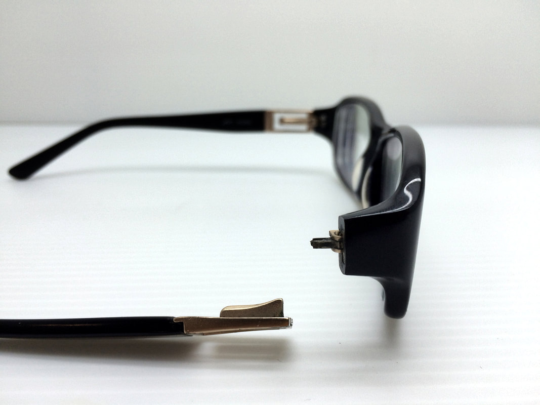 Broken Eyeglasses Spring hinge repair /Fix Brisbane