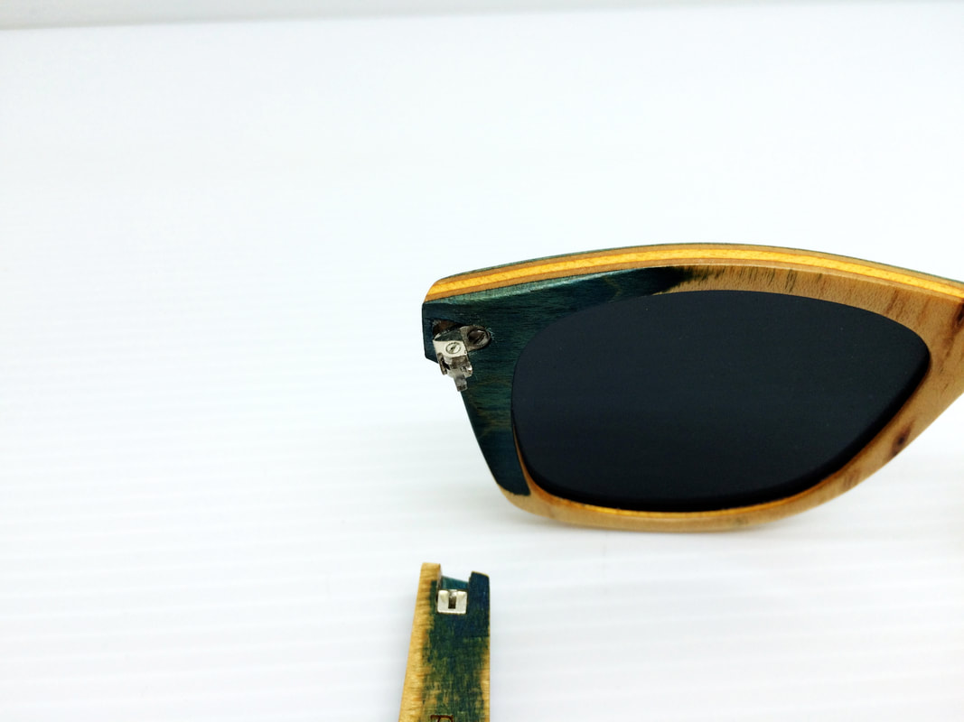 Karen Walker prescription glasses sunglasses frame repair