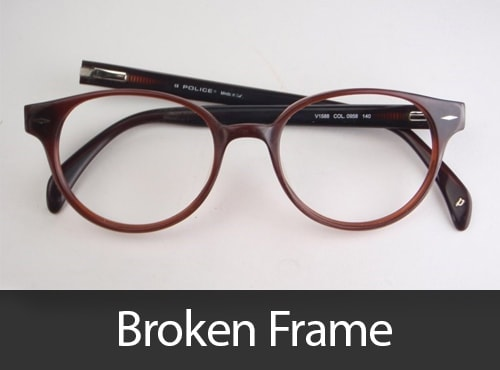 b60c2f7fe4 Broken Glasses Sunglasses frame repair service